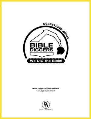 Bible Diggers Booklet Cover