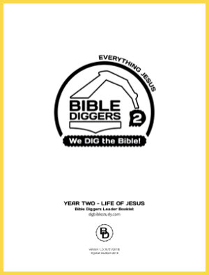 Bible Diggers For Kids - Year 2 - Cover Page