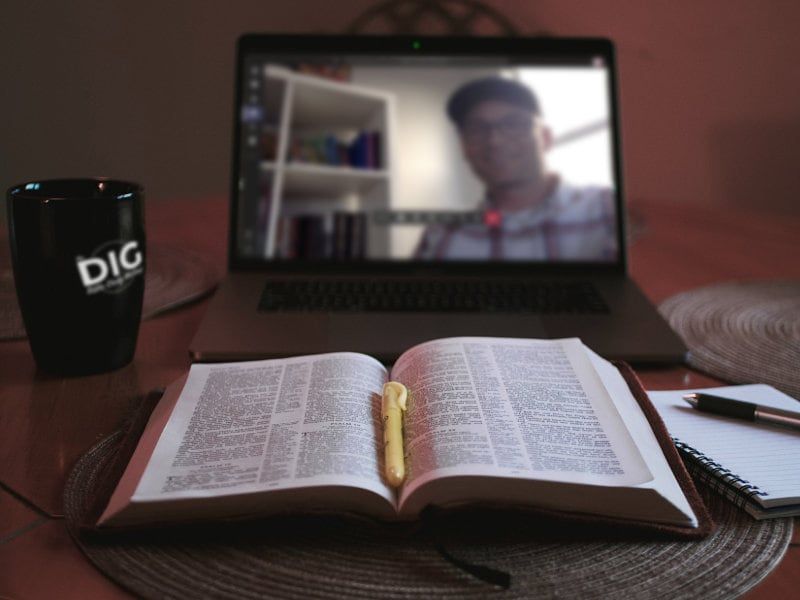 Live Bible Study in Microsoft Teams