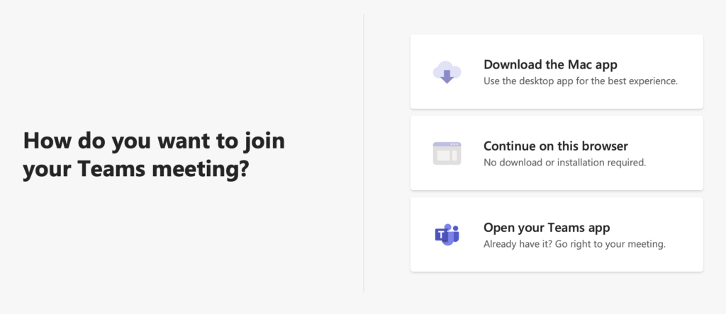How to Join Teams Meeting Bible Study from a browser window